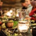 Illalliskattaus tilausravintola Havukassa.